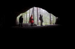 Regen, Wanderung, Höhle, Sächsische Schweiz